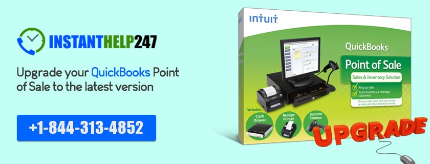 Upgrade your QuickBooks Point of Sale to the latest version